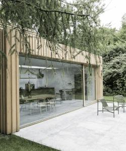 Betongulv – designgulv – ude og inde - terrasse udefra