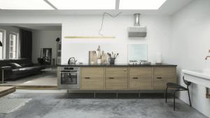 Betongulv - designgulv - ude og inde - køkken