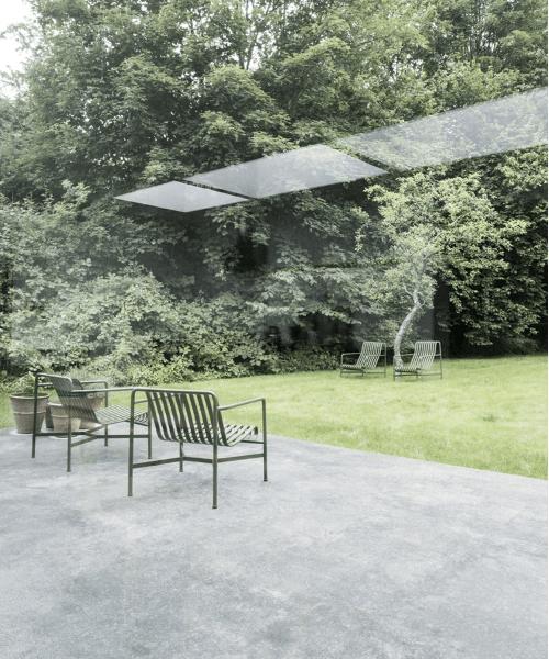 Betongulv - designgulv - ude og inde - terrasse indefra