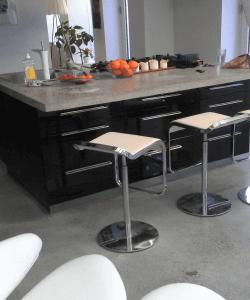 Støbning, slibning og polering af betongulv - Pi - køkken