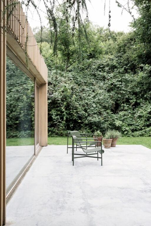 Betongulv terrasse
