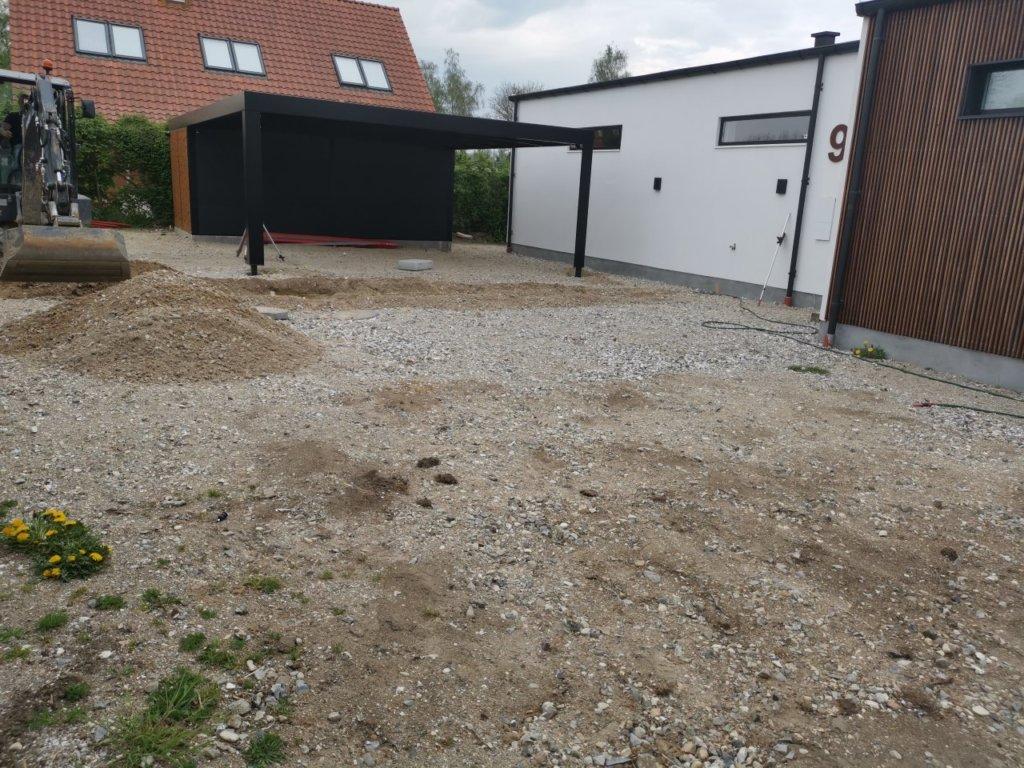 Forberedelse til betonterrasser