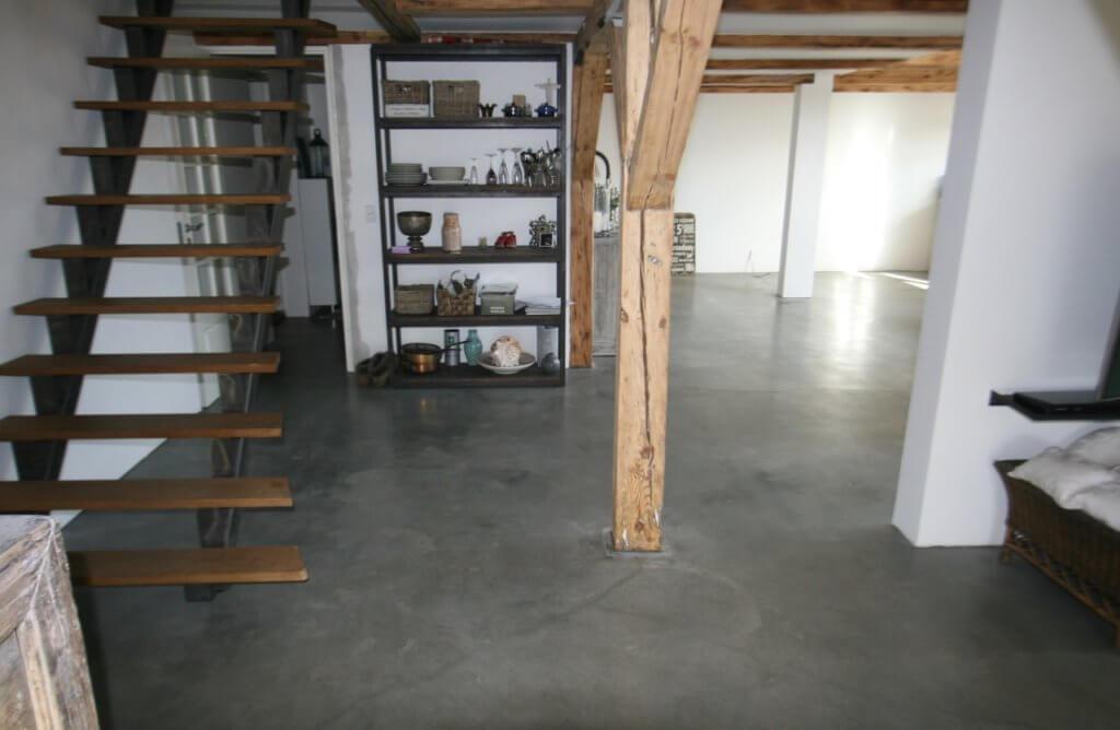 Poleret beton – penthouse